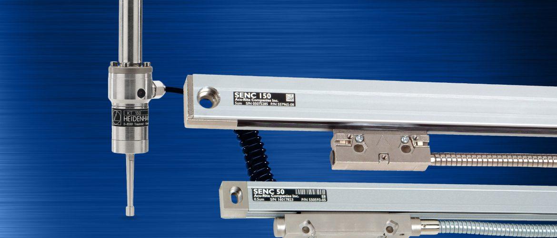 ACU-RITE encoders and edge finder