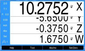 DRO300 dynamic zoom 4X display